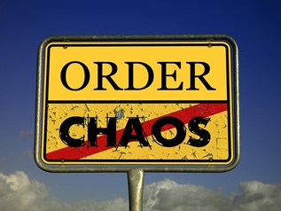 Är kaos är en bra tid?